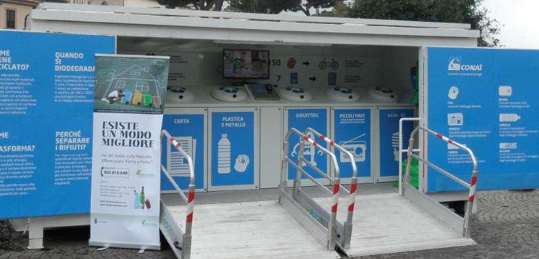 Mobile Ufficio Differenziata Primo Specials : Raccolta differenziata nel quartiere di monteluce gesenu